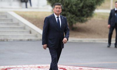 Президент Киргизии Жээнбеков подал в отставку - Фото