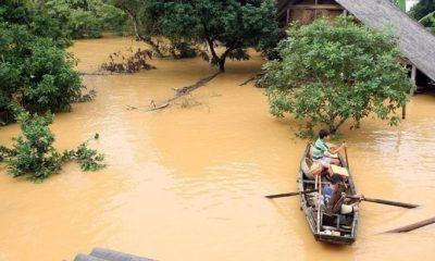 Жертвами наводнения в центральной части Вьетнама стали 117 человек - Фото