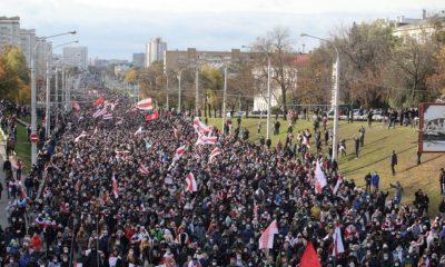 В МВД Беларуси посчитали участников воскресных акций протеста и задержанных - Фото