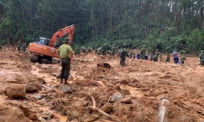 Тела 22 солдат были найдены после схода оползня во Вьетнаме - Фото