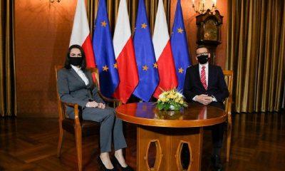 Тихановская попросила власти Польши дать уехавшим белорусам работать - Фото