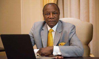 Действующий президент Гвинеи Альфа Конде выиграл свой третий срок на выборах - Фото