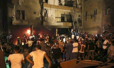 При взрыве на топливном складе в Бейруте погибли четыре человека - Фото