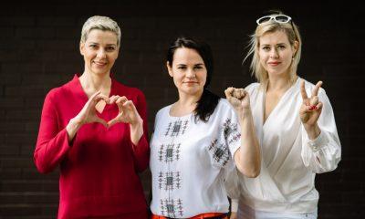Тихановскую, Колесникову и Цепкало наградили премией свободы - Фото