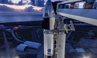 Запуск Crew Dragon к МКС отложен из-за дефекта двигателей Falcon 9 - Фото
