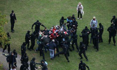 Минская милиция задержала несколько десятков протестующих - Фото