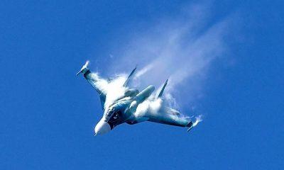 В Хабаровском крае потерпел крушение самолет Су-34 - Фото