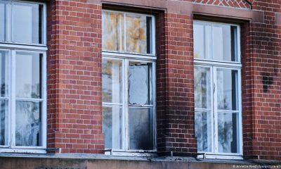 Неизвестные пытались поджечь здание Института Роберта Коха в Берлине - Фото