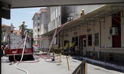 Три человека погибли в результате пожара в больнице Рио-де-Жанейро - Фото