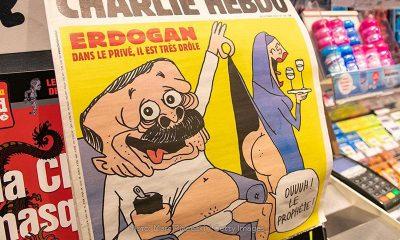МИД Турции вызвал поверенного в делах Франции из-за карикатуры в Charlie Hebdo - Фото