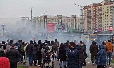 МВД Беларуси подтвердило применение спецсредств против митингующих 22 ноября - Фото