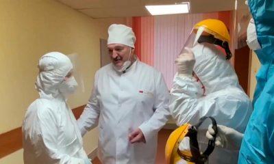 Лукашенко пообещал посетить ряд медучреждений, занятых в лечении больных коронавирусом - Фото