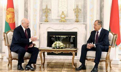 В Минске начались переговоры Лукашенко с Лавровым - Фото