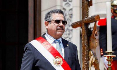 Президент Перу МануэльМерино подал в отставку - Фото