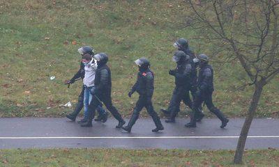 МВД Беларуси: на акциях протеста 22 ноября задержаны 345 человек - Фото