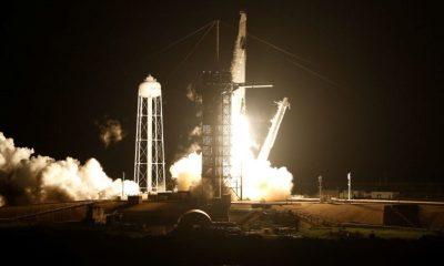 Ракета Falcon 9 стартовала во Флориде с кораблём Dragon и грузом для МКС - Фото