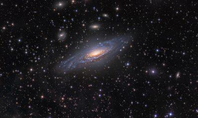 Австралийские ученые создали карту около 3 млн галактик - Фото