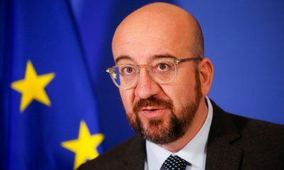 Глава Евросовета самоизолируется после контакта с Макроном - Фото