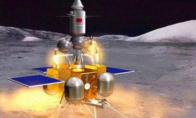 """Китайский зонд """"Чанъэ-5"""" успешно выполнил первую коррекцию орбиты - Фото"""