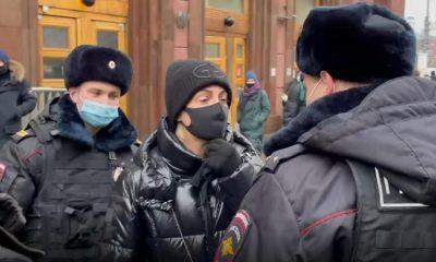 В Москве задержана супруга Алексея Навального - Фото