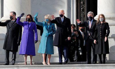 Джо Байден прибыл в Капитолий на свою инаугурацию - Фото