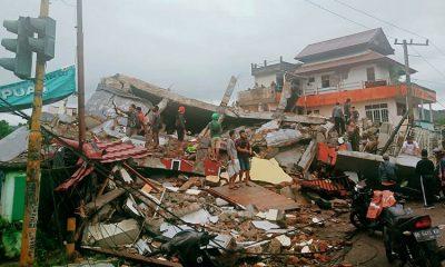 Число погибших в результате землетрясения и наводнений в Индонезии достигло 96 - Фото