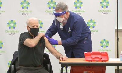 Джо Байден 11 января получил вторую дозу вакцины от COVID-19 - Фото
