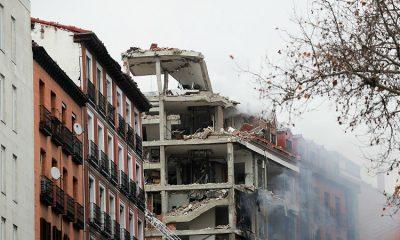 Восемь человек пострадали и четверо погибли при взрыве газа в Мадриде - Фото