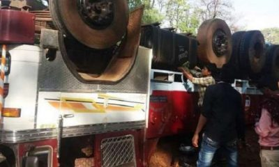 В Индии при опрокидывании грузовика погибли 16 человек - Фото