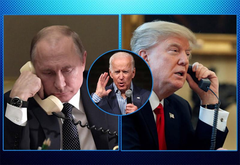 Джо Байден получил доступ к записям разговоров Владимира Путина и Дональда Трампа - Фото