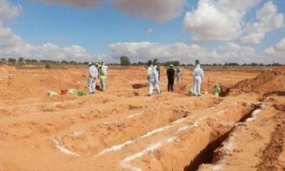 В Ливии обнаружено новое массовое захоронение - Фото