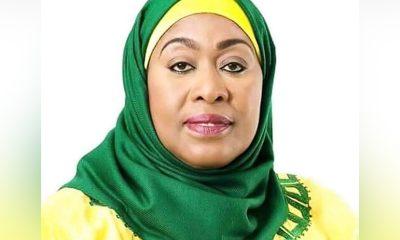 Самия Хасан Сулуху 19 марта вступила в должность президента Танзании - Фото