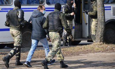 В Беларуси 27 марта на акциях протеста задержали более 100 человек - Фото