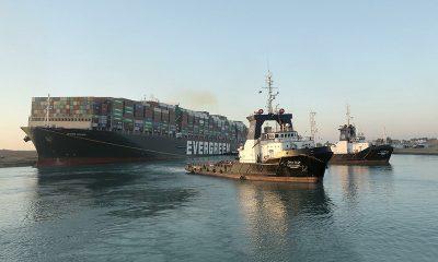 Президент Египта объявил об успешном завершении операции по разблокировке Суэцкого канала - Фото