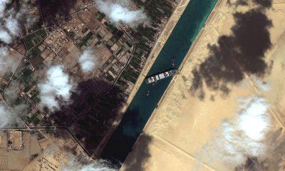 Египет теряет из-за блокировки Суэцкого канала $14 млн в день - Фото