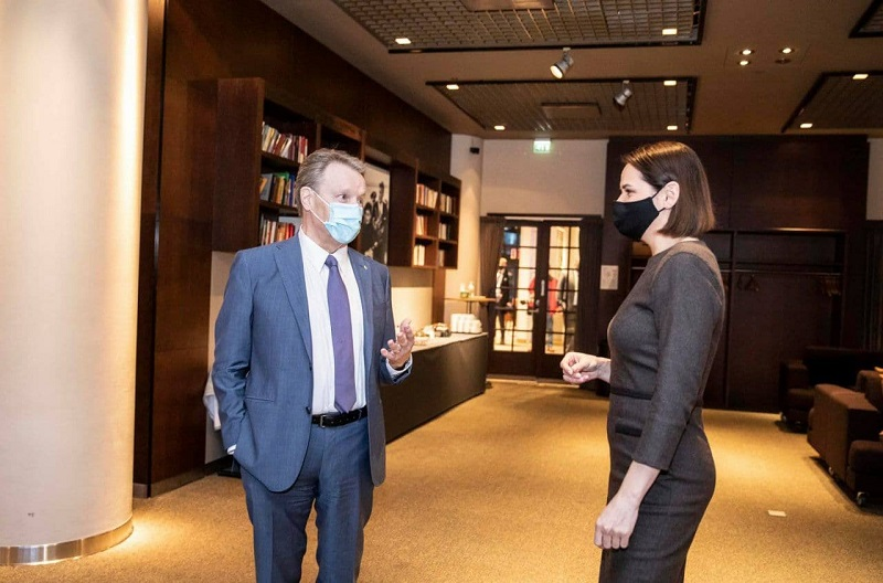 Тихановская предложила открыть посольство Финляндии в Беларуси - Фото