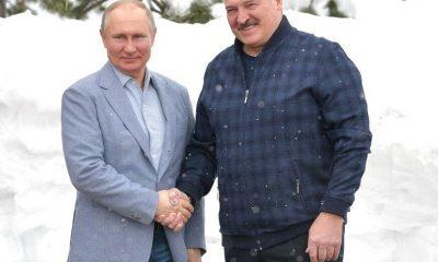 Лукашенко опроверг обсуждение кредита для Беларуси на встрече с Путиным в Сочи - Фото