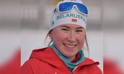 Динара Алимбекова получила приз IBU лучшей молодой спортсменке Кубка мира в этом сезоне - Фото