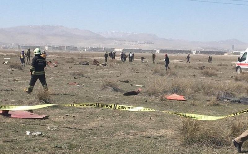 В Турции при крушении истребителя NF-5 погиб пилот - Фото
