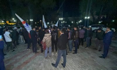В Кыргызстане 11 апреля прошел митинг против итогов парламентских выборов - Фото