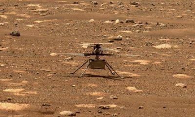 Беспилотный вертолет Ingenuity совершит второй полет на Марсе 22 апреля - Фото