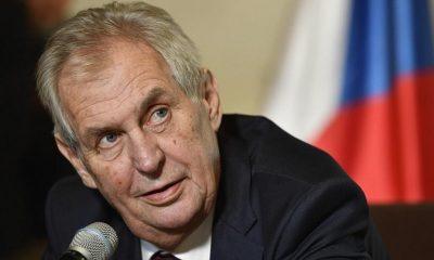 Президент Чехии Земан призвал дождаться итогов расследования взрывов во Врбетице - Фото