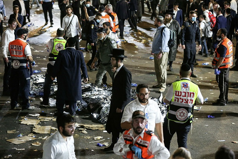 Более 40 человек погибли во время религиозного праздника в Израиле - Фото