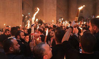 Благодатный огонь из Иерусалима доставят в Москву 1 мая - Фото
