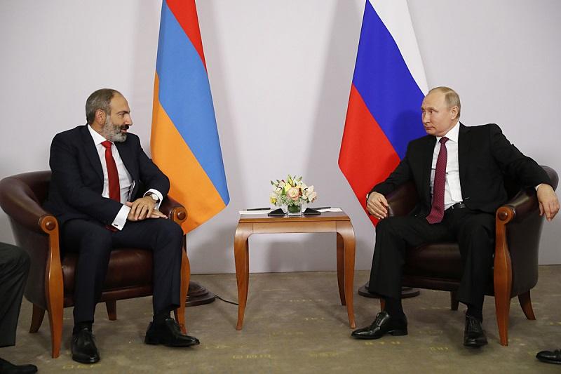 Пашинян встретится с Путиным 7 апреля в Москве - Фото