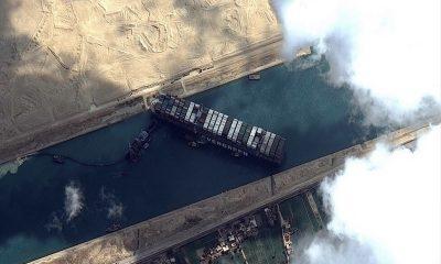 Сумма ущерба от блокировки Суэцкого канала может составить $1 млрд - Фото