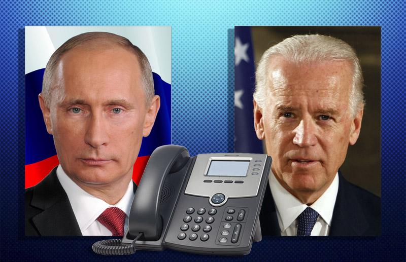Путин и Байден обсудили информацию о попытке покушения на Лукашенко - Фото
