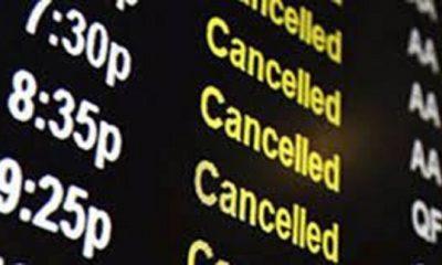 авиакомпании прекращают полеты