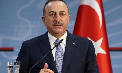 глава турецкого МИД Мевлют Чавушоглу