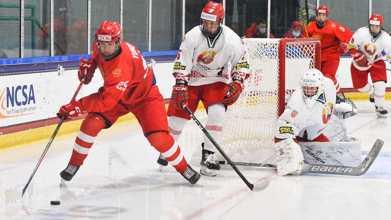 Сборная Беларуси по хоккею покидает юниорский ЧМ